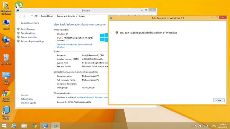 Télécharger l'ISO de Microsoft Windows 8.1 Basic Edition