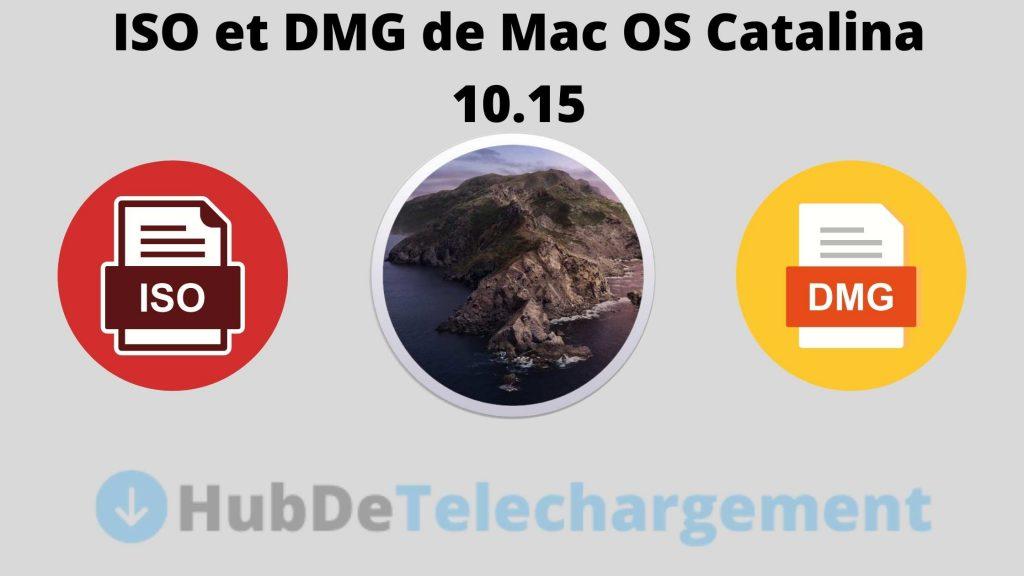 ISO et DMG de Mac OS Catalina 10.15
