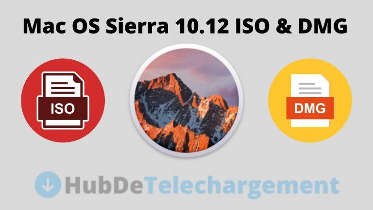 Téléchargez gratuitement l'image ISO et DMG de Mac OS Sierra 10.12