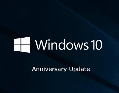 ISO de mise à jour anniversaire de Windows 10
