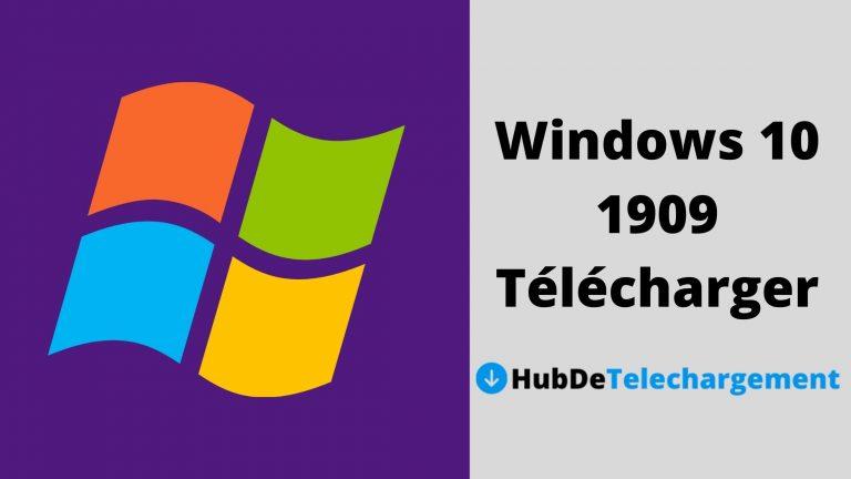 Windows 10 1909 Télécharger la Version Complète Gratuitement