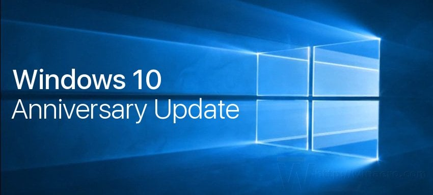 Windows 10 Anniversary ISo - Configuration système requise
