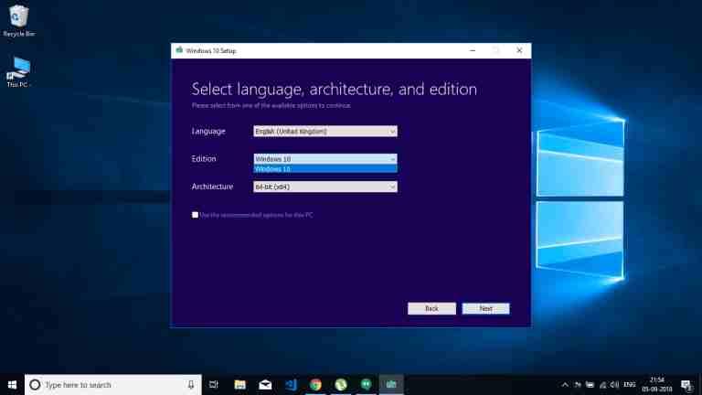 Windows 10 Professional ISO
