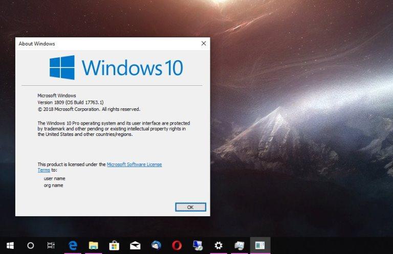 Télécharger Windows 10 1809