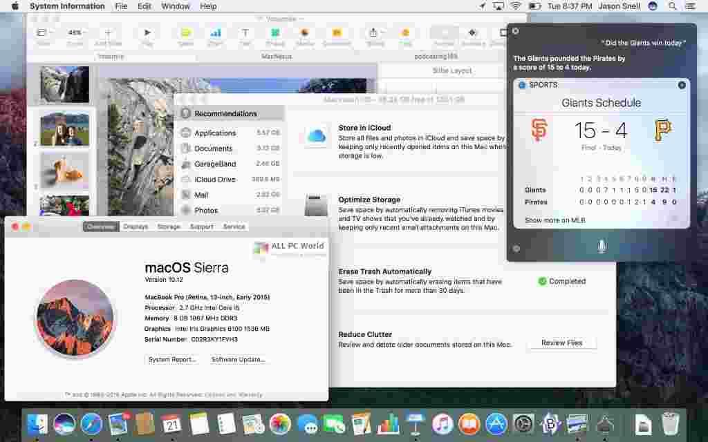 macOS Sierra 10