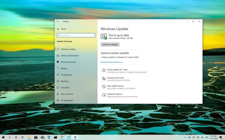 Download Windows 10 1909