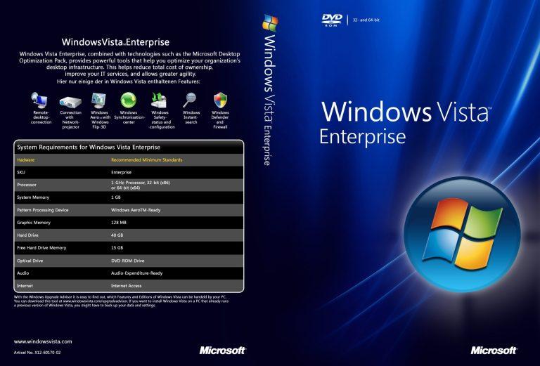 Windows Vista Enterprise ISO