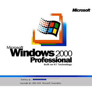 Téléchargement ISO de Windows 2000