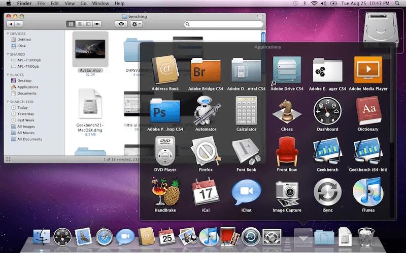 Mac OS X Leopard 10.5 ISO et DMG