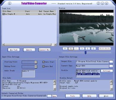 Télécharger Total Video Converter pour Windows 7