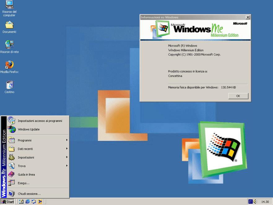Window Me ISO avec la dernière version