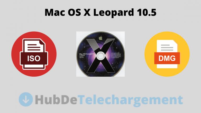Téléchargement direct de fichiers ISO et DMG pour Mac OS X Leopard 10.5