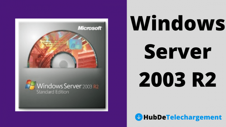 Téléchargement d'image ISO standard Windows Server 2003 R2