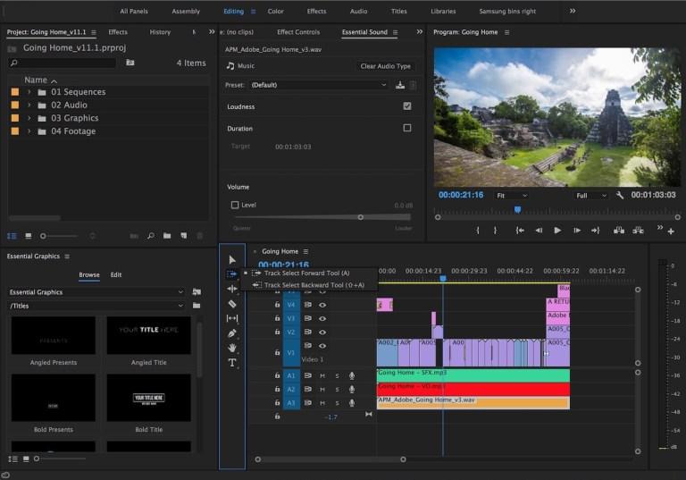 Download Adobe Premiere Pro CC 2017 for free