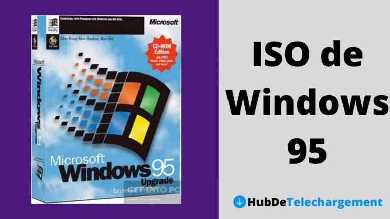 Téléchargement ISO de Windows 95: Téléchargement gratuit de Windows 95
