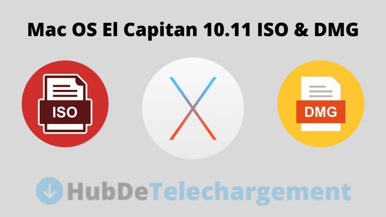Téléchargement direct des fichiers ISO / DMG pour Mac OS X El Capitan 10.11