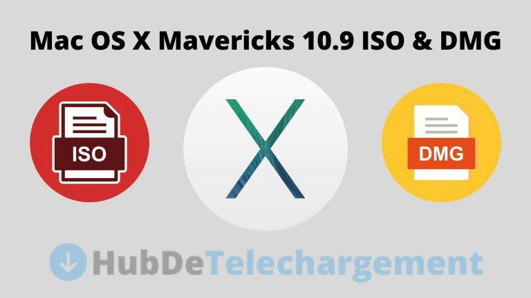 Téléchargement d'images ISO et DMG pour Mac OS X Mavericks 10.9