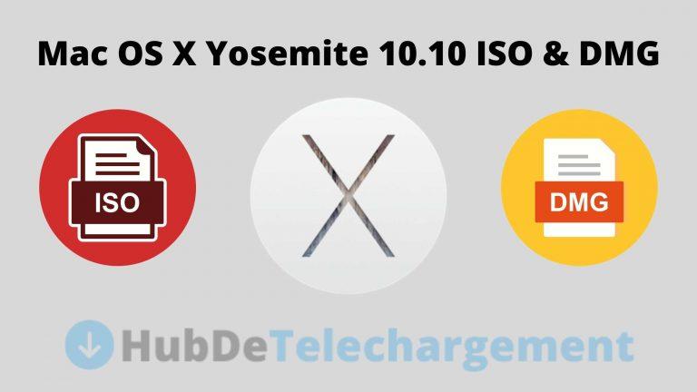 Téléchargez le fichier ISO / DMG de Mac OS X Yosemite 10.10 directement gratuitement