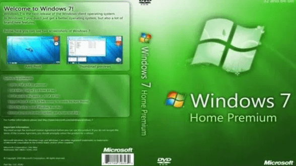 Télécharger Microsoft Windows 7 Home Premium ISO