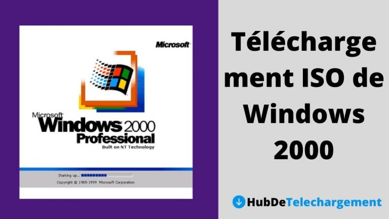 Téléchargement ISO de Windows 2000: Téléchargement gratuit de Windows 2000