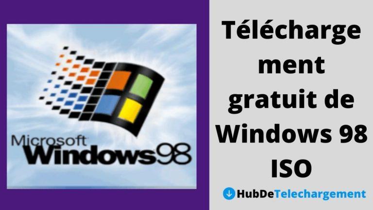 Téléchargement gratuit de Windows 98 ISO: Windows 98 SE