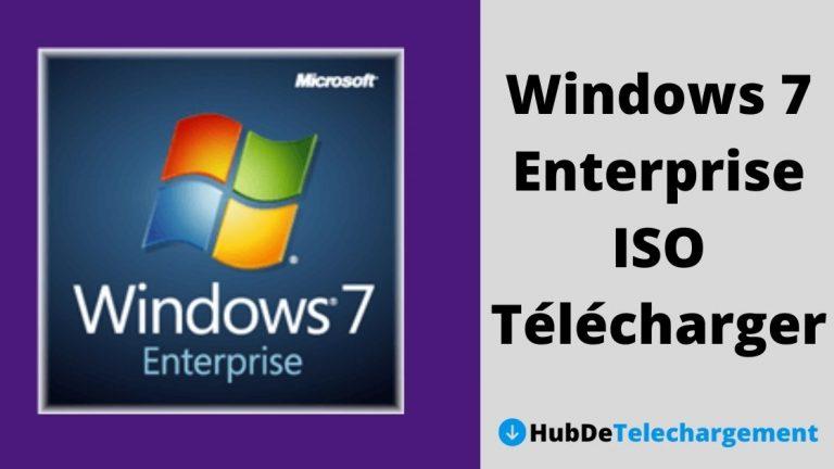 Windows 7 Enterprise ISO Télécharger la version complète gratuitement