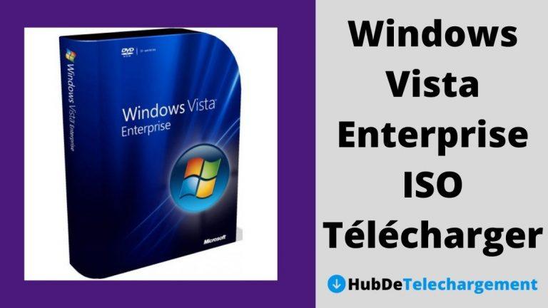 Windows Vista Enterprise ISO Télécharger la version complète gratuitement