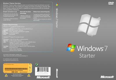 ISO de démarrage Windows 7