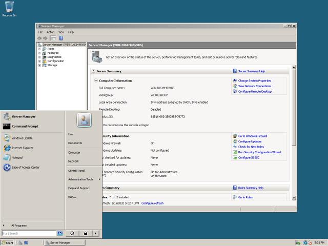 ISO de Windows Server 2008