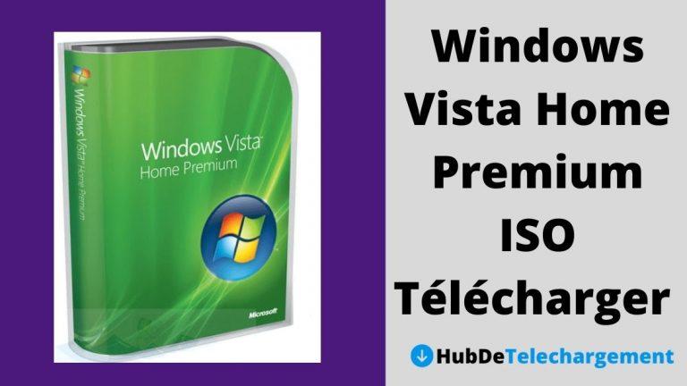 Windows Vista Home Premium ISO Télécharger la version complète gratuitement