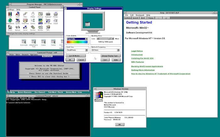 Windows NT 3.51 pour station de travail et serveur gratuit
