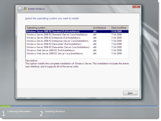 Télécharger Windows Server 2008 R2 ISO