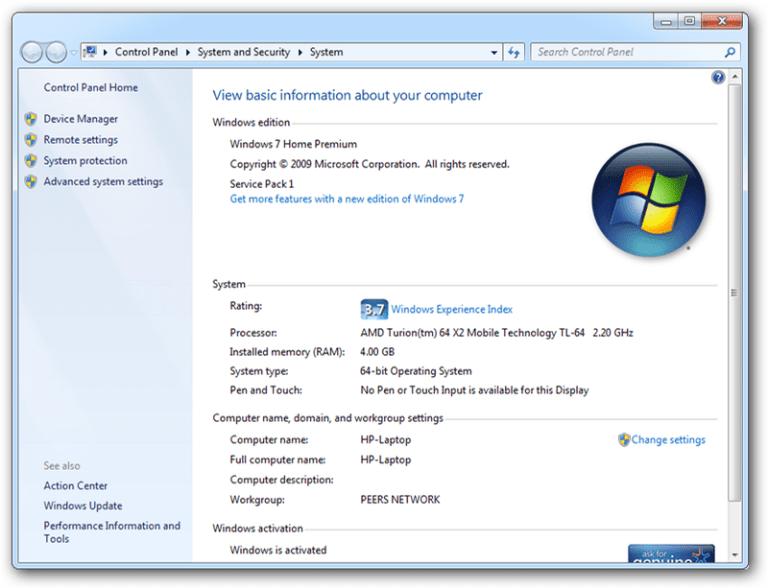 Download Microsoft Windows 7 Ultimate SP1