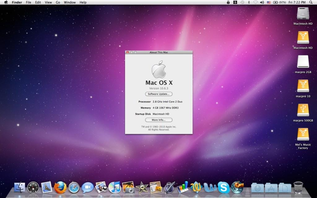 Mac OS X Snow Leopard 10.6 ISO