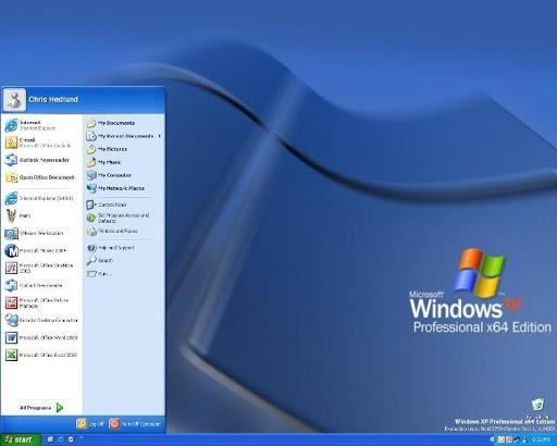 Microsoft Windows XP Professional x64 Edition ISO