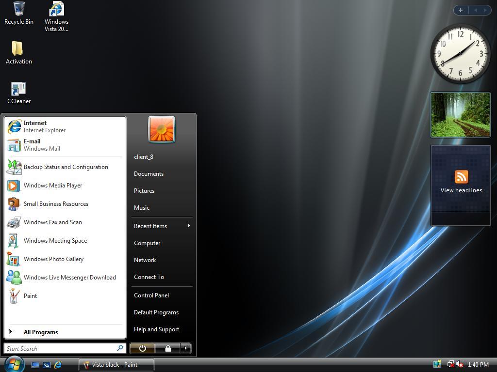 Télécharger Windows Vista Lite Edition ISO