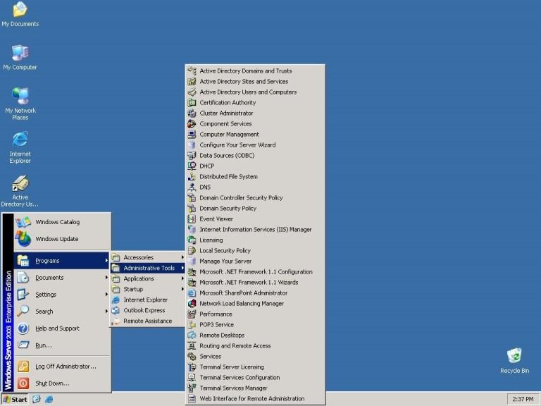 Microsoft Windows Server 2003 ISO