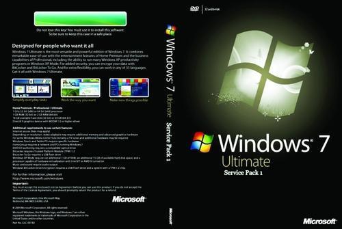 Microsoft Windows 7 Ultimate SP1