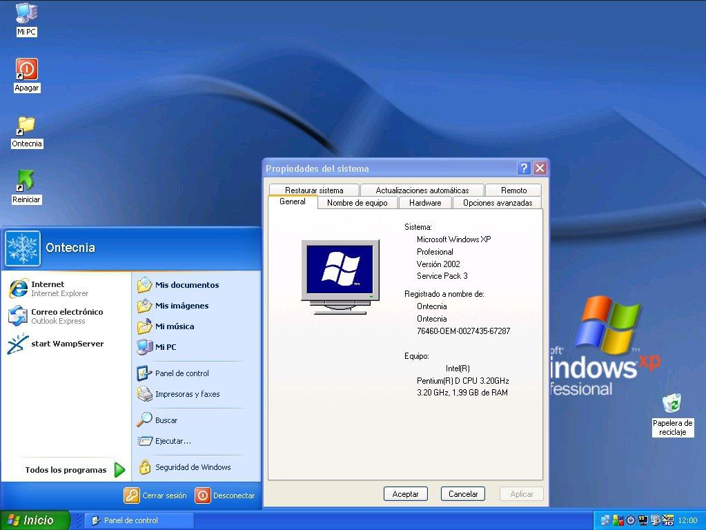 télécharger Windows XP Lite ISO Professional SP3