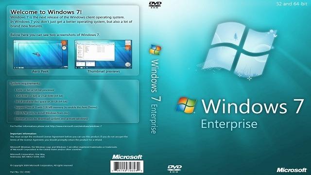 Download Windows 7 Enterprise ISO