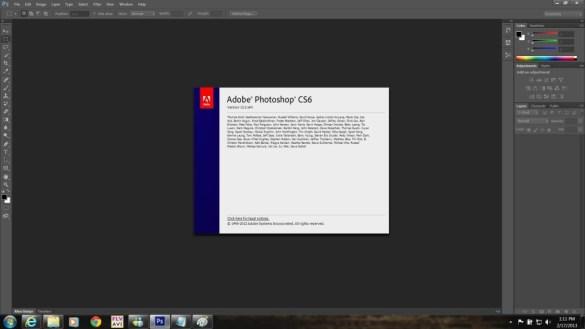 Téléchargement gratuit d'Adobe Photoshop CS6