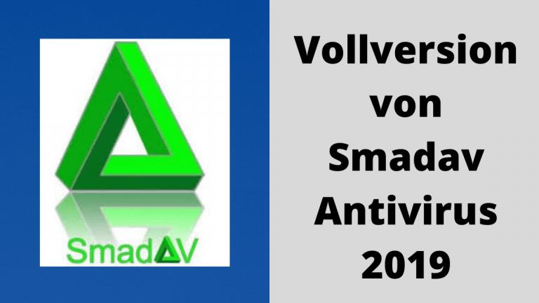 Laden Sie die Vollversion von Smadav Antivirus 2019 kostenlos herunter
