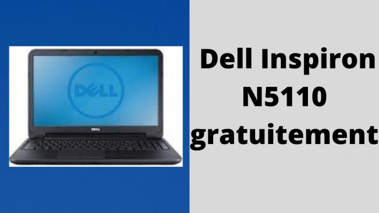 Téléchargez la version complète des pilotes Dell Inspiron N5110 gratuitement