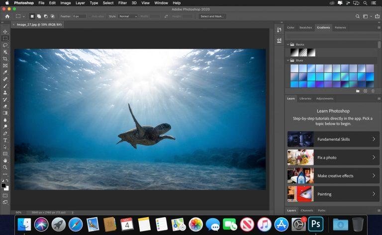 Télécharger Adobe Photoshop 2020 pour Mac OS
