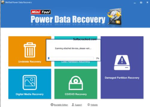 Téléchargement gratuit de récupération de données Minitool Power