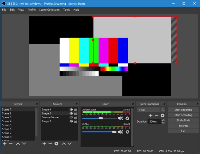 Open Broadcaster Software 2020 Télécharger la version complète gratuitement