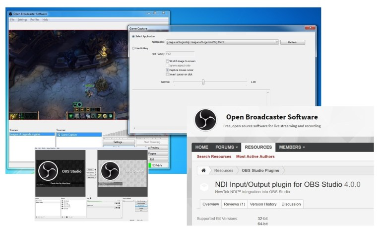 Télécharger le logiciel Open Broadcaster 2020
