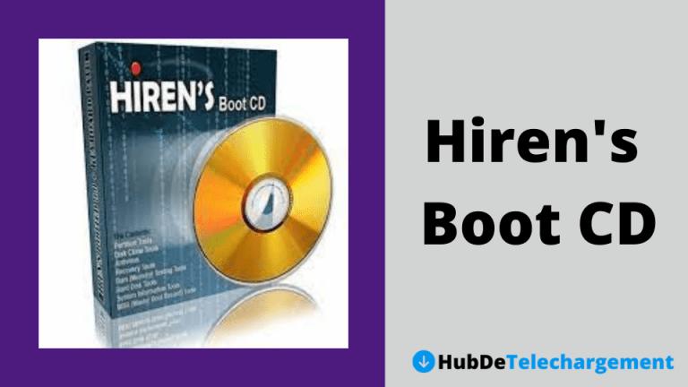 Télécharger Hiren's Boot CD PE ISO Dernière version (64 bits)