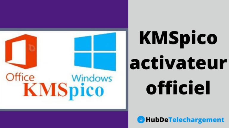 Téléchargez l'activateur officiel KMSpico pour Windows et MS Office[2020]