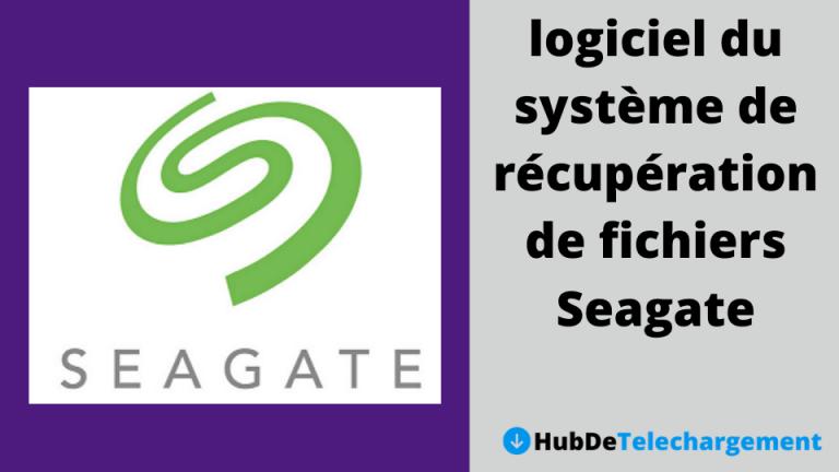 Téléchargez gratuitement le logiciel du système de récupération de fichiers Seagate